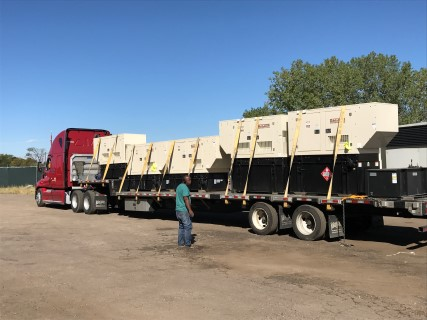 Generators Headed to Vigin Islands