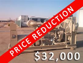 Cummins 375 kW - $32,000