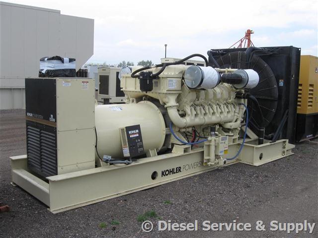 Kohler 1250 Kw Used Generator Sets