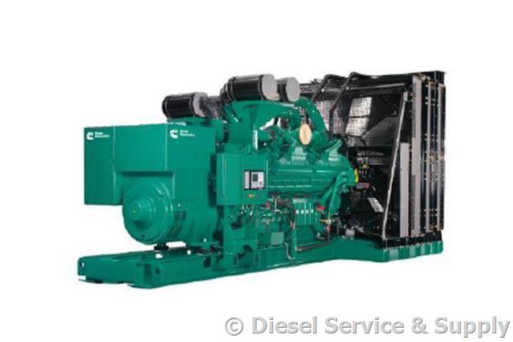2500 kW Cummins Diesel QSK60-G19 - Generator for Sale - Unit