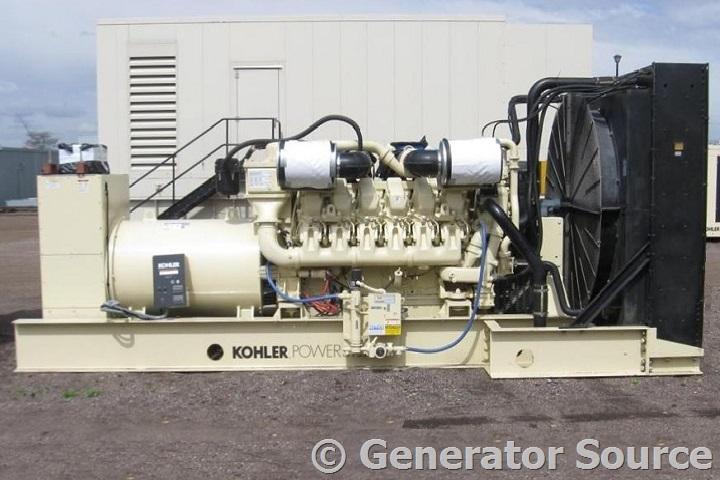 used generators diesel generator sets for standby kohler 1250 kw