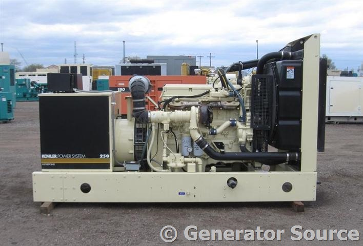 250 kW Kohler Natural Gas 6063GKG5 - Used Generator for Sale - Unit