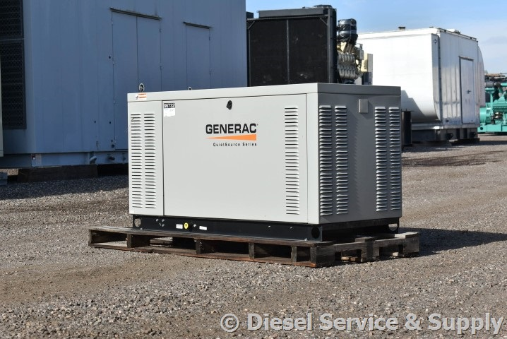 20 Kw Generac Natural Gas 4g64s4m Used Generator For Sale Unit 86735