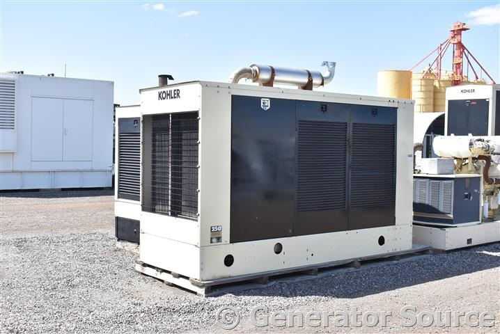 250 kW Kohler Natural Gas SERIES 60 - Used Generator for Sale - Unit-87019