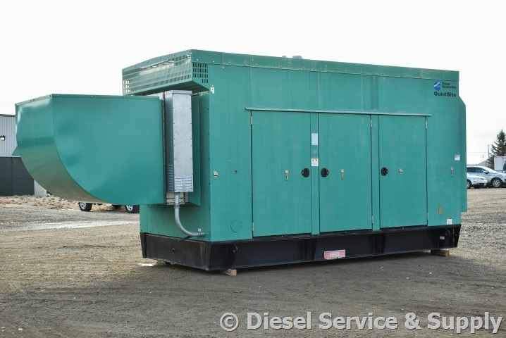 400 kW Cummins Diesel QSX15-G9 - Used Generator for Sale